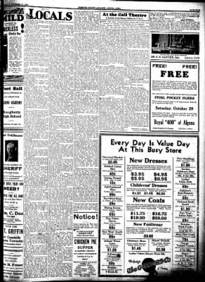 Kossuth County Advance from Algona, Iowa on October 27, 1932 · Page 5