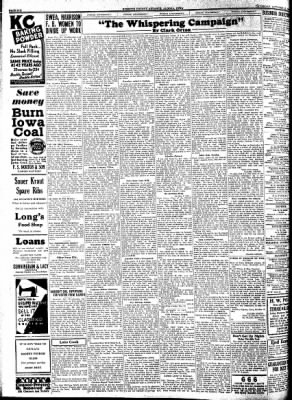 Kossuth County Advance from Algona, Iowa on October 27, 1932 · Page 6