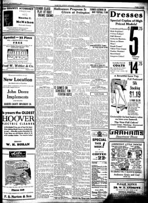 Kossuth County Advance from Algona, Iowa on November 3, 1932 · Page 3