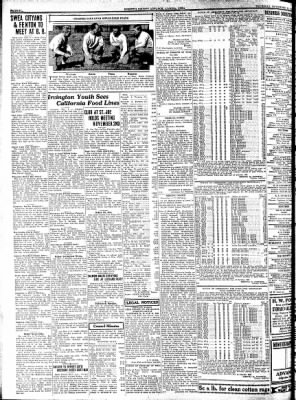 Kossuth County Advance from Algona, Iowa on November 10, 1932 · Page 6