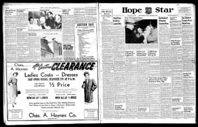 Hope Star from Hope, Arkansas on December 27, 1946 · Page 1