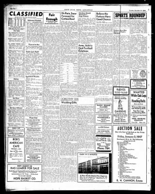 Hope Star from Hope, Arkansas on December 31, 1946 · Page 4