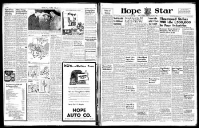 Hope Star from Hope, Arkansas on January 2, 1946 · Page 6