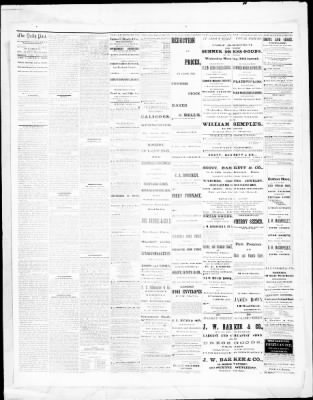 Pittsburgh Daily Post From Pittsburgh Pennsylvania On July 2 1869