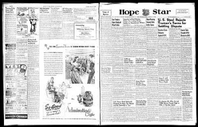 Hope Star from Hope, Arkansas on January 18, 1946 · Page 1