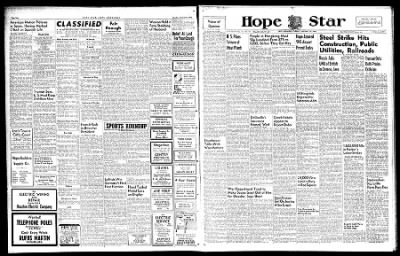 Hope Star from Hope, Arkansas on January 22, 1946 · Page 1