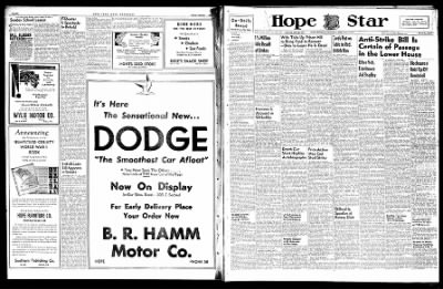 Hope Star from Hope, Arkansas on February 2, 1946 · Page 1
