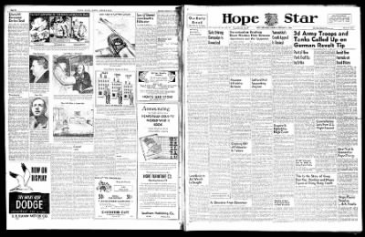 Hope Star from Hope, Arkansas on February 2, 1946 · Page 6