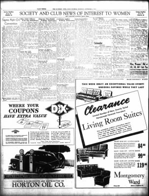 the call leader from elwood indiana on october 5 1943 page 3 Diamond T Semi
