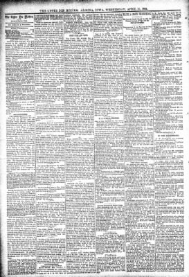 The Algona Upper Des Moines from Algona, Iowa on April 11, 1894 · Page 4