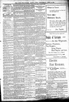 The Algona Upper Des Moines from Algona, Iowa on April 18, 1894 · Page 5