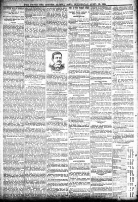 The Algona Upper Des Moines from Algona, Iowa on April 25, 1894 · Page 2