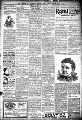 The Algona Upper Des Moines from Algona, Iowa on May 9, 1894 · Page 7