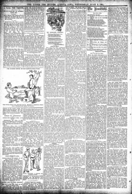The Algona Upper Des Moines from Algona, Iowa on June 6, 1894 · Page 2