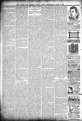 The Algona Upper Des Moines from Algona, Iowa on June 6, 1894 · Page 6