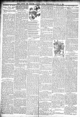 The Algona Upper Des Moines from Algona, Iowa on June 13, 1894 · Page 2