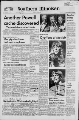 Southern Illinoisan from Carbondale, Illinois on August 31, 1971 · Page 1