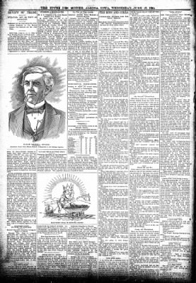 The Algona Upper Des Moines from Algona, Iowa on June 27, 1894 · Page 2