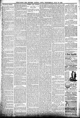 The Algona Upper Des Moines from Algona, Iowa on July 25, 1894 · Page 6