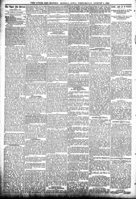 The Algona Upper Des Moines from Algona, Iowa on August 1, 1894 · Page 4