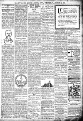 The Algona Upper Des Moines from Algona, Iowa on August 22, 1894 · Page 7