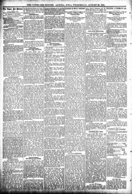 The Algona Upper Des Moines from Algona, Iowa on August 29, 1894 · Page 4