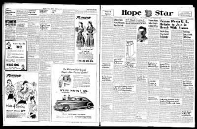 Hope Star from Hope, Arkansas on February 26, 1946 · Page 6