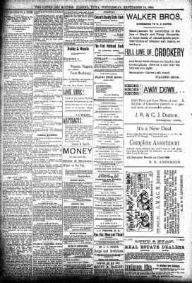 The Algona Upper Des Moines from Algona, Iowa on September 19, 1894 · Page 8