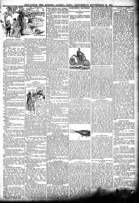 The Algona Upper Des Moines from Algona, Iowa on September 26, 1894 · Page 3