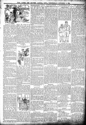 The Algona Upper Des Moines from Algona, Iowa on October 3, 1894 · Page 3