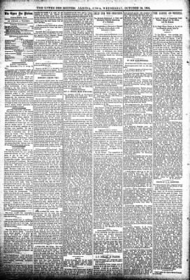 The Algona Upper Des Moines from Algona, Iowa on October 10, 1894 · Page 4
