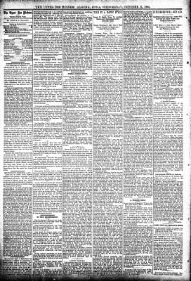The Algona Upper Des Moines from Algona, Iowa on October 17, 1894 · Page 4