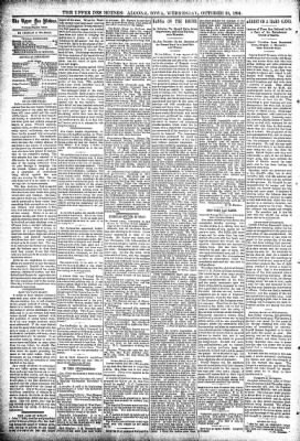 The Algona Upper Des Moines from Algona, Iowa on October 31, 1894 · Page 4
