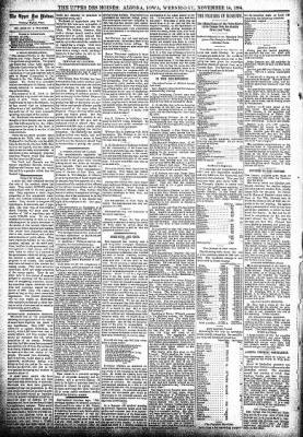 The Algona Upper Des Moines from Algona, Iowa on November 14, 1894 · Page 4