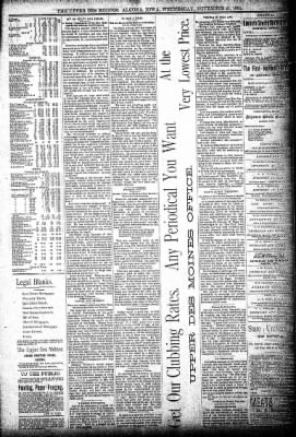 The Algona Upper Des Moines from Algona, Iowa on November 21, 1894 · Page 7