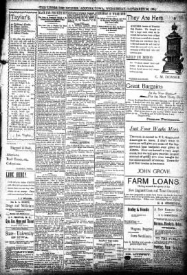 The Algona Upper Des Moines from Algona, Iowa on November 28, 1894 · Page 5