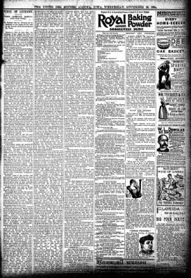 The Algona Upper Des Moines from Algona, Iowa on November 28, 1894 · Page 7