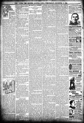 The Algona Upper Des Moines from Algona, Iowa on December 5, 1894 · Page 6