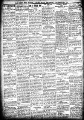 The Algona Upper Des Moines from Algona, Iowa on December 19, 1894 · Page 2