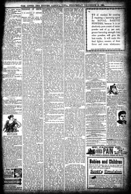 The Algona Upper Des Moines from Algona, Iowa on December 19, 1894 · Page 9
