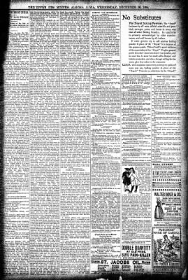 The Algona Upper Des Moines from Algona, Iowa on December 26, 1894 · Page 7