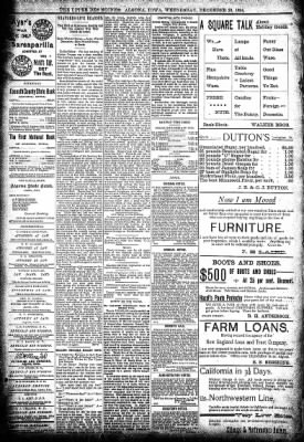 The Algona Upper Des Moines from Algona, Iowa on December 26, 1894 · Page 8