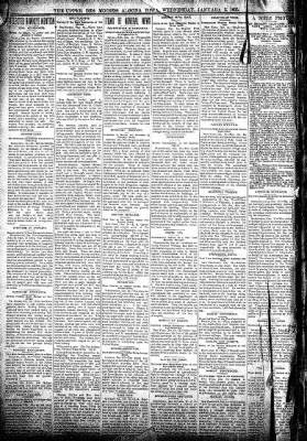 The Algona Upper Des Moines from Algona, Iowa on January 2, 1895 · Page 2