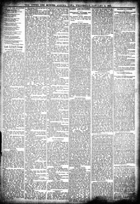 The Algona Upper Des Moines from Algona, Iowa on January 9, 1895 · Page 3