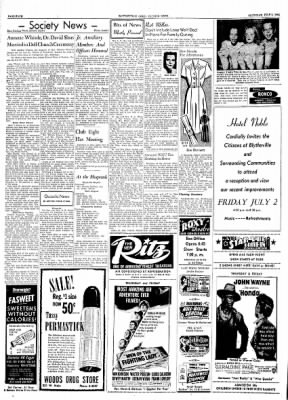The Courier News from Blytheville, Arkansas on July 1, 1954 · Page 4