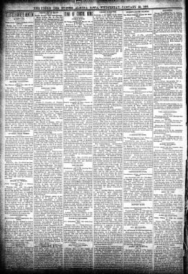 The Algona Upper Des Moines from Algona, Iowa on January 23, 1895 · Page 2