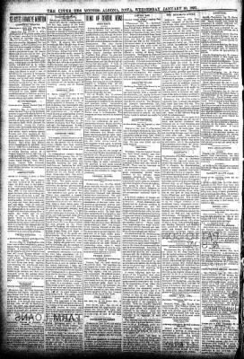 The Algona Upper Des Moines from Algona, Iowa on January 30, 1895 · Page 2