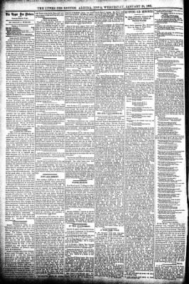The Algona Upper Des Moines from Algona, Iowa on January 30, 1895 · Page 4