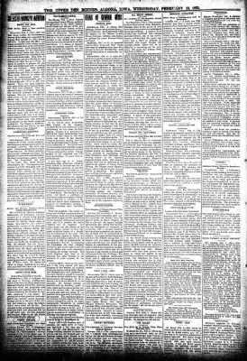 The Algona Upper Des Moines from Algona, Iowa on February 13, 1895 · Page 2
