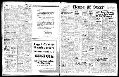 Hope Star from Hope, Arkansas on March 16, 1946 · Page 6